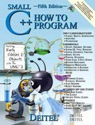 Small C++ How to Program 5th edition 9780131857582 0131857584