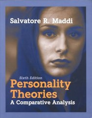 Personality Theories 6th Edition 9781577661788 1577661788