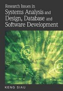 Research Issues in Systems Analysis and Design, Databases and Software Development 0 9781599049274 1599049279