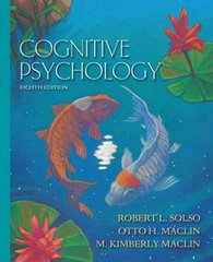 Cognitive Psychology 8th edition 9780205521081 0205521088