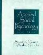 Applied Social Psychology 2nd edition 9780135338377 0135338379