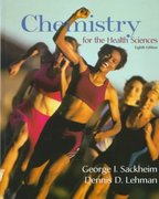 Chemistry for the Health Sciences 8th edition 9780137443192 0137443196