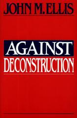 Against Deconstruction 0 9780691014845 0691014841