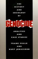 The History and Sociology of Genocide 1st Edition 9780300044461 0300044461