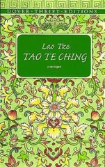 Tao Te Ching 1st Edition 9780486297927 0486297926