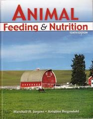 Animal Feeding and Nutrition 10th Edition 9780757531767 0757531768