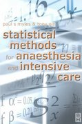 Statistical Methods for Anaesthesia and Intensive Care 0 9780750640657 0750640650