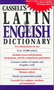 Cassell's Latin and English Dictionary 1st edition 9780020133407 0020133405