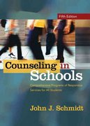 Counseling in Schools 6th Edition 9780132851718 0132851717