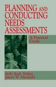Planning and Conducting Needs Assessments 1st edition 9780803958104 0803958102
