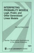 Interpreting Probability Models 1st edition 9780803949997 0803949995