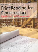 Print Reading for Construction Instructor's Guide 0 9781590703489 1590703480