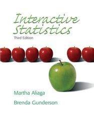 Interactive Statistics 3rd Edition 9780131497566 0131497561