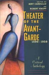 Theater of the Avant-Garde, 1890-1950 0 9780300085266 0300085265