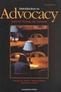 Introduction to Advocacy 7th edition 9781587784194 158778419X