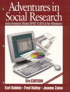 Adventures in Social Research 5th edition 9780761987581 0761987584