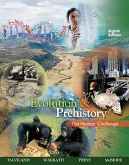 Evolution and Prehistory 8th edition 9780495381907 049538190X