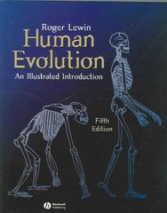 Human Evolution 5th edition 9781405103787 1405103787