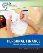 Wiley Pathways Personal Finance 1st edition 9780470111239 0470111232