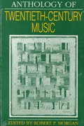 Anthology of Twentieth-Century Music 0 9780393952841 0393952843