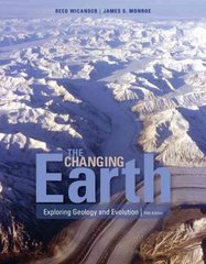 The Changing Earth 5th edition 9780495554806 0495554804