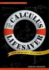 The Calculus Lifesaver 1st Edition 9780691130880 0691130884