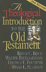 A Theological Introduction to the Old Testament 2nd edition 9780687066766 068706676X