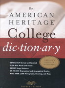 The American Heritage College Dictionary 4th Edition 9780618098484 0618098488