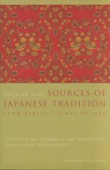 Sources of Japanese Tradition 2nd Edition 9780231121392 0231121393