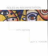 Roles in Interpretation 5th Edition 9780072431810 0072431814