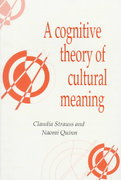 A Cognitive Theory of Cultural Meaning 0 9780521595414 052159541X