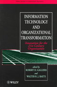 Information Technology and Organizational Transformation 1st edition 9780471970736 0471970735