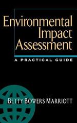 Environmental Impact Assessment: A Practical Guide 1st edition 9780070404106 0070404100