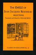 Emile of Jean Jacques Rousseau 10th edition 9780807711071 0807711071