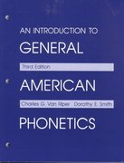 An Introduction to General American Phonetics 3rd Edition 9780881336719 0881336718