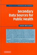Secondary Data Sources for Public Health 1st Edition 9780511271724 0511271727