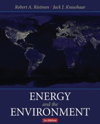 Energy and the Environment 2nd edition 9780471739890 0471739898