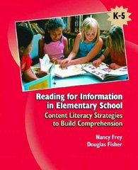Reading for Information in Elementary School 1st Edition 9780131707498 0131707493