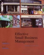 Effective Small Business Management 7th Edition 9780470003435 047000343X