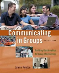 Communicating in Groups 3rd Edition 9780195183436 0195183436