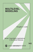 Multilevel Modeling 1st Edition 9780761928799 0761928790