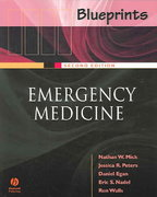 Blueprints Emergency Medicine 2nd edition 9781405104616 1405104619