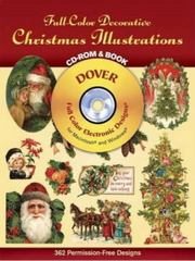 Full-Color Decorative Christmas Illustrations 0 9780486999678 048699967X