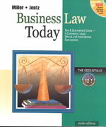 Business Law Today, The Essentials 6th edition 9780324120967 0324120966
