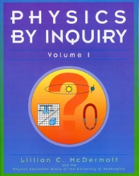 Physics by Inquiry 1st edition 9780471144403 0471144401