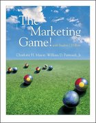 The Marketing Game! (with student CD ROM) 3rd edition 9780072513806 0072513802