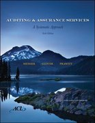 MP Auditing and Assurance Services with ACL SW CD 6th edition 9780077236533 007723653X