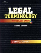 Legal Terminology with Flashcards 2nd edition 9780766827615 0766827615