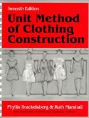 Unit Method of Clothing Construction 7th edition 9781577660545 1577660544