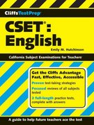 CliffsTestPrep CSET: English 1st edition 9780470139691 0470139692